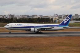 tmkさんが、伊丹空港で撮影した全日空 767-381/ERの航空フォト(飛行機 写真・画像)