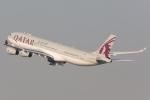たーぼーさんが、羽田空港で撮影したカタール航空 A340-313Xの航空フォト(写真)