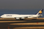 ちゅういちさんが、羽田空港で撮影したルフトハンザドイツ航空 747-830の航空フォト(写真)