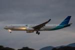 sg-driverさんが、福岡空港で撮影したガルーダ・インドネシア航空 A330-341の航空フォト(写真)