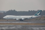 OS52さんが、成田国際空港で撮影したキャセイパシフィック航空 747-467F/ER/SCDの航空フォト(写真)
