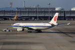 T.Sazenさんが、関西国際空港で撮影した中国国際航空 A330-343Xの航空フォト(飛行機 写真・画像)