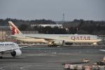 Izumixさんが、成田国際空港で撮影したカタール航空 777-3DZ/ERの航空フォト(写真)