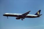 tassさんが、ロンドン・ガトウィック空港で撮影したカレドニアン エアウェイズ 757-236の航空フォト(写真)