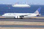 しゃこ隊さんが、羽田空港で撮影したユナイテッド航空 787-8 Dreamlinerの航空フォト(写真)