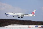 funi9280さんが、新千歳空港で撮影したチャイナエアライン 777-309/ERの航空フォト(写真)