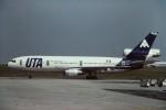 tassさんが、パリ シャルル・ド・ゴール国際空港で撮影したUTA DC-10-30の航空フォト(飛行機 写真・画像)