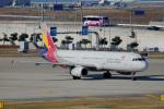 ちゃぽんさんが、関西国際空港で撮影したアシアナ航空 A321-231の航空フォト(写真)