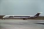 tassさんが、パリ シャルル・ド・ゴール国際空港で撮影したアエロ・トランスポルテ・イタリアーニ MD-82 (DC-9-82)の航空フォト(写真)