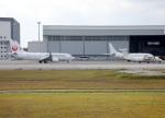 voyagerさんが、那覇空港で撮影した日本トランスオーシャン航空 737-8Q3の航空フォト(飛行機 写真・画像)
