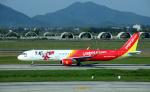 kenko.sさんが、ノイバイ国際空港で撮影したベトジェットエア A321-211の航空フォト(写真)