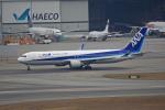 tsubameさんが、香港国際空港で撮影した全日空 767-381/ERの航空フォト(写真)