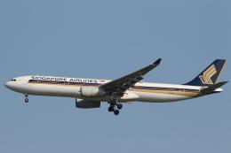 安芸あすかさんが、シンガポール・チャンギ国際空港で撮影したシンガポール航空 A330-343Xの航空フォト(飛行機 写真・画像)