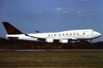 tassさんが、成田国際空港で撮影したエア・カナダ 747-4F6の航空フォト(写真)