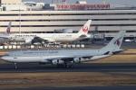 ちゅういちさんが、羽田空港で撮影したカタールアミリフライト A340-211の航空フォト(写真)
