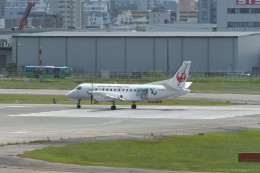 kuro2059さんが、福岡空港で撮影した日本エアコミューター 340Bの航空フォト(飛行機 写真・画像)