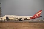 T.Kawaseさんが、羽田空港で撮影したカンタス航空 747-438の航空フォト(写真)