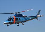 チャーリーマイクさんが、東京ヘリポートで撮影した警視庁 A109E Powerの航空フォト(写真)