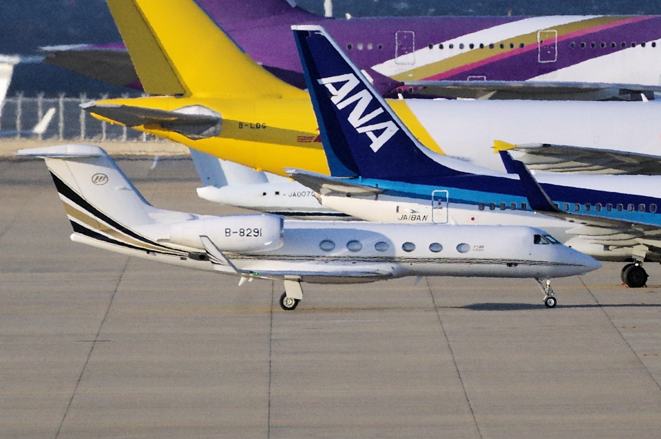 yabyanさんの金鹿航空 Gulfstream Aerospace G350/G450 (G-IV) (B-8291) 航空フォト
