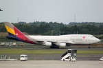 Wasawasa-isaoさんが、成田国際空港で撮影したアシアナ航空 747-48EMの航空フォト(写真)