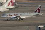 みるぽんたさんが、羽田空港で撮影したカタールアミリフライト A319-133X CJの航空フォト(写真)