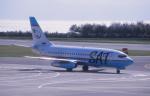 プルシアンブルーさんが、函館空港で撮影したサハリン航空 737-2J8/Advの航空フォト(写真)