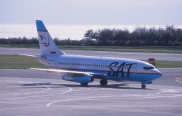 プルシアンブルーさんが、函館空港で撮影したサハリン航空 737-2J8/Advの航空フォト(飛行機 写真・画像)