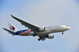 アカゆこさんが、台湾桃園国際空港で撮影したマレーシア航空 A330-223の航空フォト(飛行機 写真・画像)