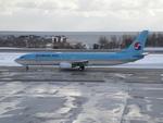 りんたろうさんが、函館空港で撮影した大韓航空 737-9B5の航空フォト(写真)
