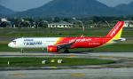 kenko.sさんが、ノイバイ国際空港で撮影したベトジェットエア A321-271Nの航空フォト(写真)