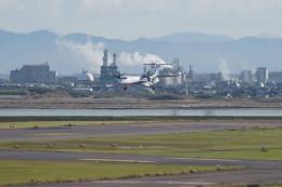 kij niigataさんが、新潟空港で撮影した全日空 DHC-8-400の航空フォト(写真)