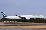ちかぼーさんが、成田国際空港で撮影したキャセイパシフィック航空 A350-1041の航空フォト(写真)