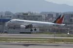 kuro2059さんが、福岡空港で撮影したフィリピン航空 A320-214の航空フォト(写真)
