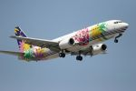 ふるちゃんさんが、羽田空港で撮影したスカイネットアジア航空 737-4Y0の航空フォト(写真)