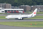 kuro2059さんが、福岡空港で撮影した日本トランスオーシャン航空 737-8Q3の航空フォト(飛行機 写真・画像)