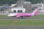 kuro2059さんが、福岡空港で撮影したピーチ A320-214の航空フォト(飛行機 写真・画像)