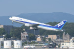 kuro2059さんが、福岡空港で撮影した全日空 767-381/ERの航空フォト(飛行機 写真・画像)
