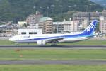 kuro2059さんが、福岡空港で撮影した全日空 777-281の航空フォト(飛行機 写真・画像)