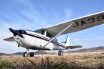 フォークリフト操縦士さんが、角田滑空場で撮影した日本モーターグライダークラブ 172P Skyhawk IIの航空フォト(写真)