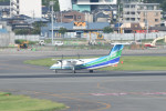 kuro2059さんが、福岡空港で撮影したオリエンタルエアブリッジ DHC-8-201Q Dash 8の航空フォト(飛行機 写真・画像)