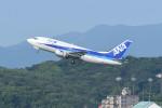 kuro2059さんが、福岡空港で撮影したANAウイングス 737-54Kの航空フォト(写真)
