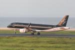 kuro2059さんが、北九州空港で撮影したスターフライヤー A320-214の航空フォト(飛行機 写真・画像)