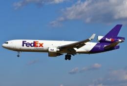 あしゅーさんが、成田国際空港で撮影したフェデックス・エクスプレス MD-11Fの航空フォト(写真)