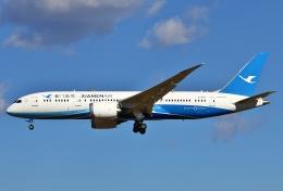 あしゅーさんが、成田国際空港で撮影した厦門航空 787-8 Dreamlinerの航空フォト(写真)