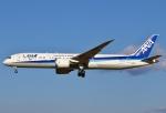 あしゅーさんが、成田国際空港で撮影した全日空 787-9の航空フォト(飛行機 写真・画像)