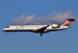 あしゅーさんが、成田国際空港で撮影したアイベックスエアラインズ CL-600-2C10 Regional Jet CRJ-702の航空フォト(写真)