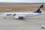 キイロイトリさんが、神戸空港で撮影したスカイマーク 737-8HXの航空フォト(写真)
