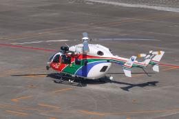 らむえあたーびんさんが、名古屋飛行場で撮影した茨城県防災航空隊 BK117C-2の航空フォト(飛行機 写真・画像)
