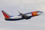 キャスバルさんが、フェニックス・スカイハーバー国際空港で撮影したサウスウェスト航空 737-7H4の航空フォト(写真)