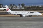 kumagorouさんが、仙台空港で撮影したジェイ・エア ERJ-190-100(ERJ-190STD)の航空フォト(写真)
